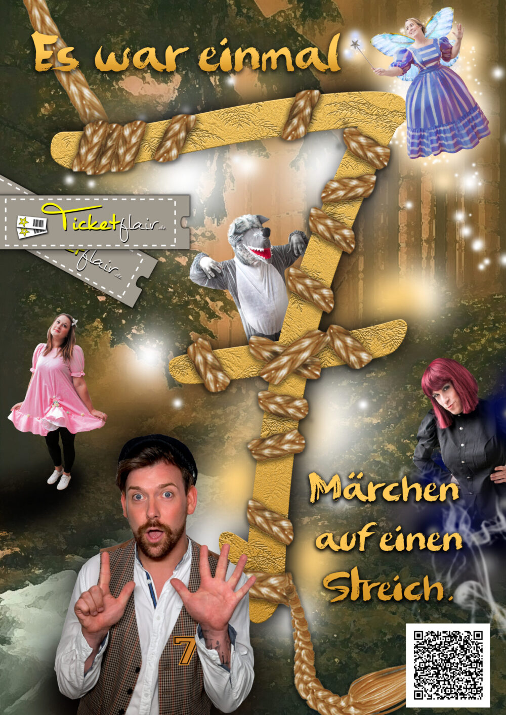 Read more about the article Es war einmal – Das Familienmusical